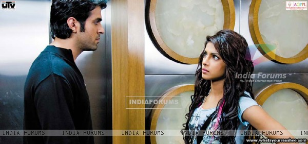 Harman and Priyanka looking each other