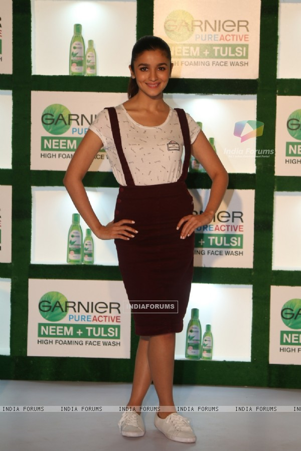 Alia Bhatt at Garnier Flawless Skin Event