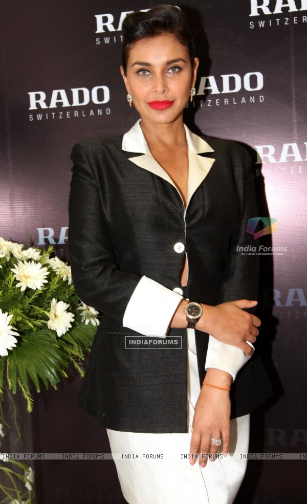 Lisa Ray at RADO Store Kolkata