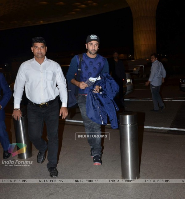 Ranbir Leaves for London