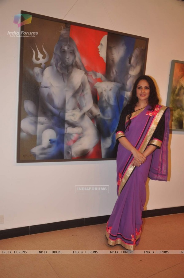 Gracy Singh Art Exhibition