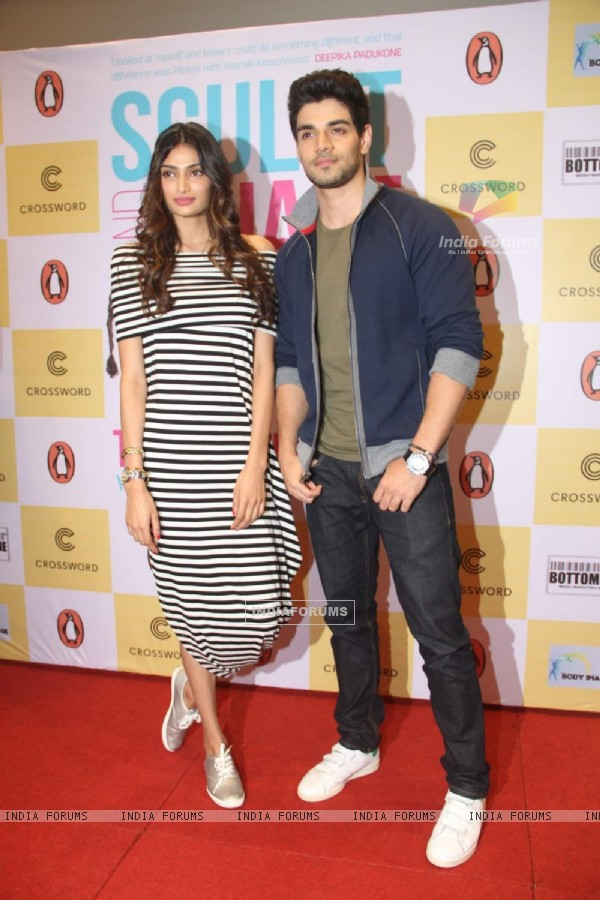 Athiya - Sooraj at Yasmin Karachiwala's Book Singing Event