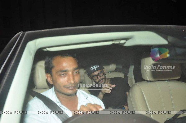 Ranveer Singh at Special Screening of Kis Kisko Pyaar Karoon