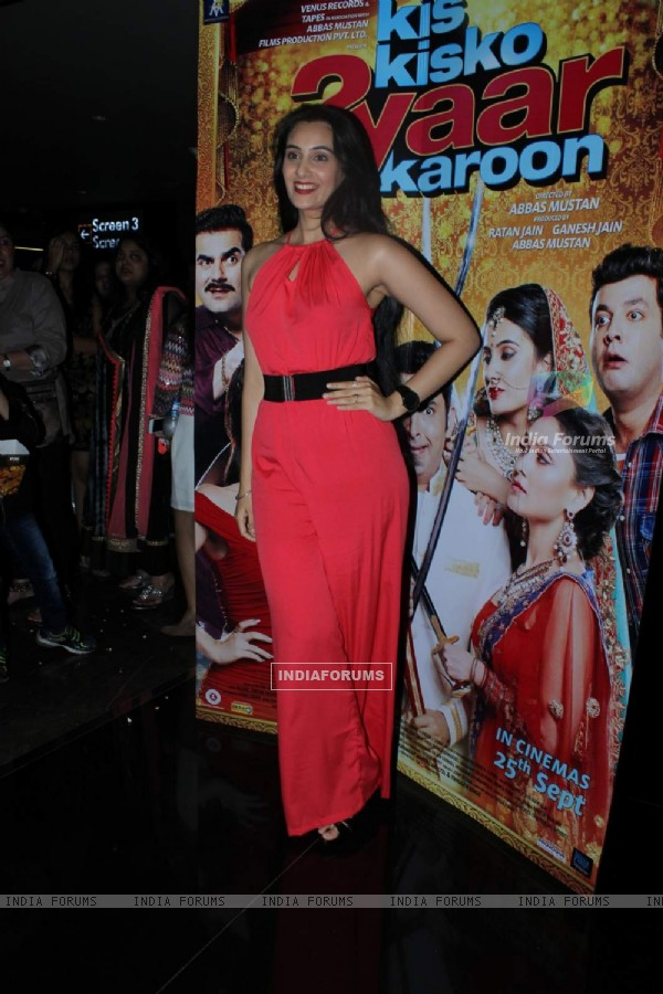 Sai Lokur at Special Screening of Kis Kisko Pyaar Karoon