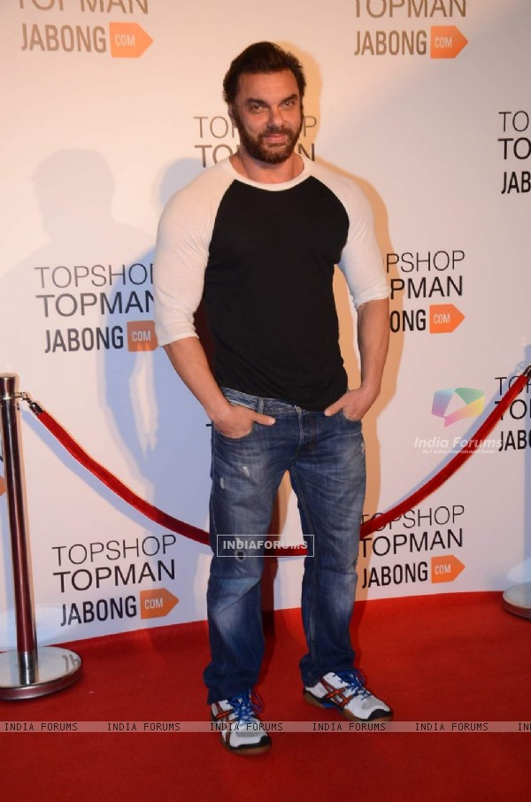 Sohail Khan at Launch Of Topshop & Topman