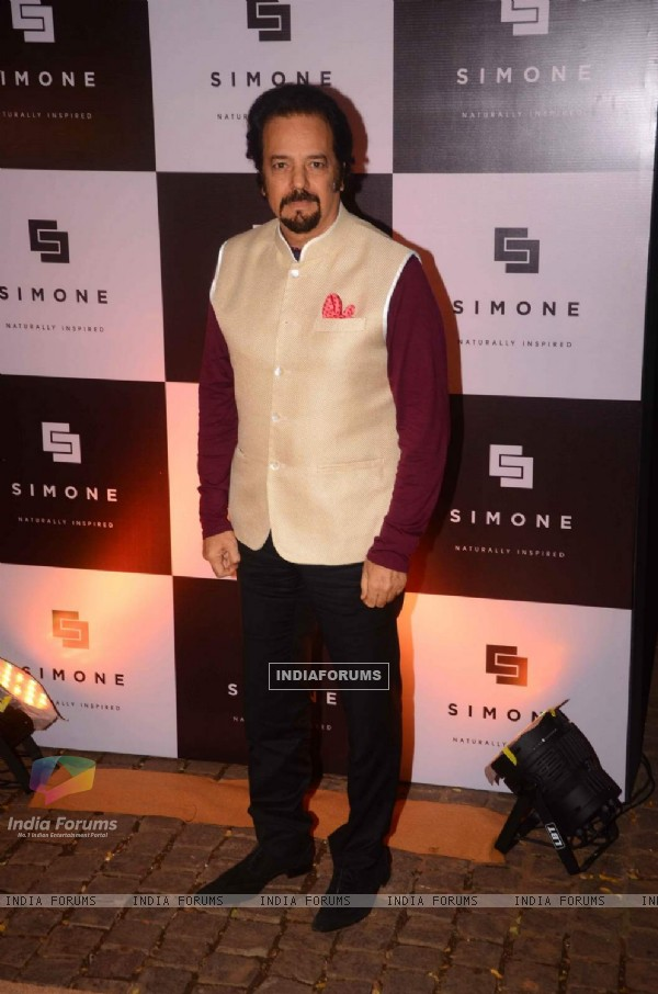 Akbar Khan poses for the media at Simone Khan's Store Anniversary