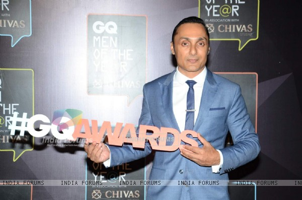 Rahul Bose poses for the media at GQ India Men of the Year Awards 2015