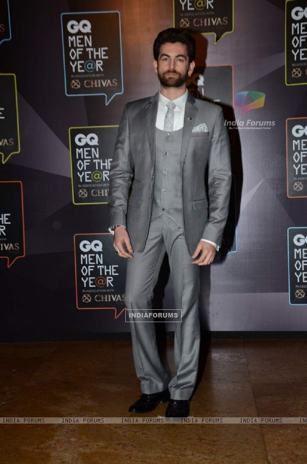 Neil Nitin Mukesh at the GQ India Men of the Year Awards 2015
