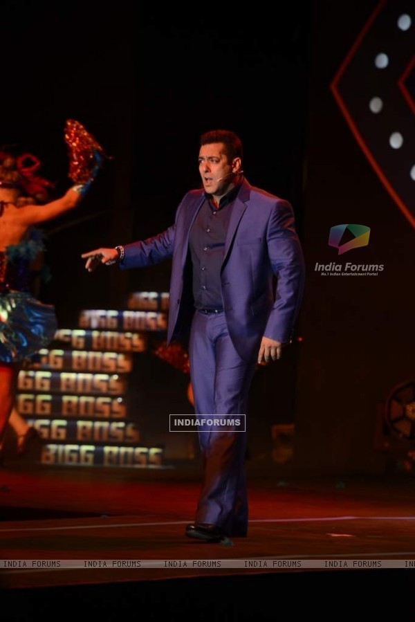 Salman Khan at the Launch of Bigg Boss Nau