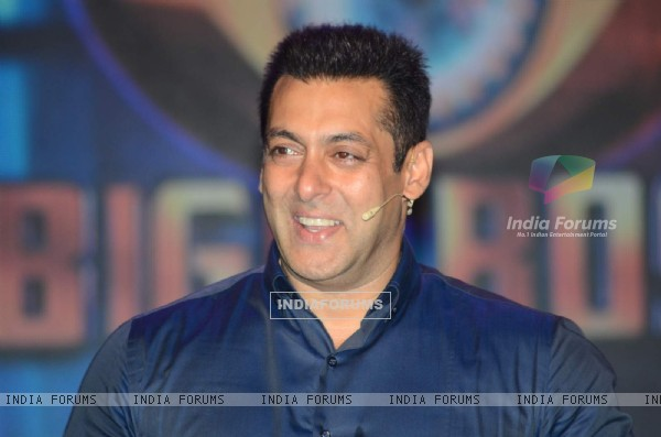 Salman Khan as Colors Launches Bigg Boss Nau