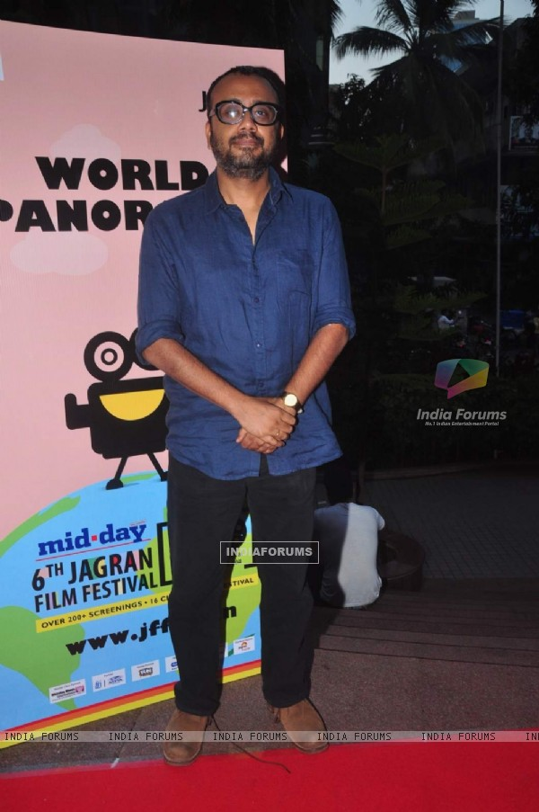 Dibakar Banerjee at the Opening of the 6th Jagran Film Festival