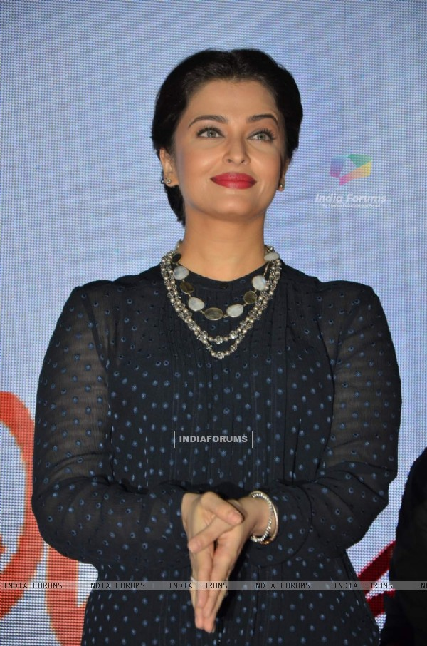 Aishwarya Rai Bachchan at the Promotions of Jazbaa