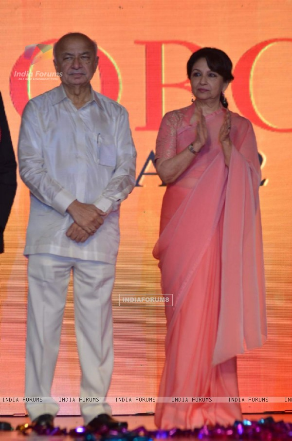 Sharmila Tagore at the Globoil Awards