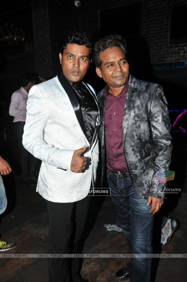 Girish Wankhede with Naveen Prabhakar at the Birthday Bash