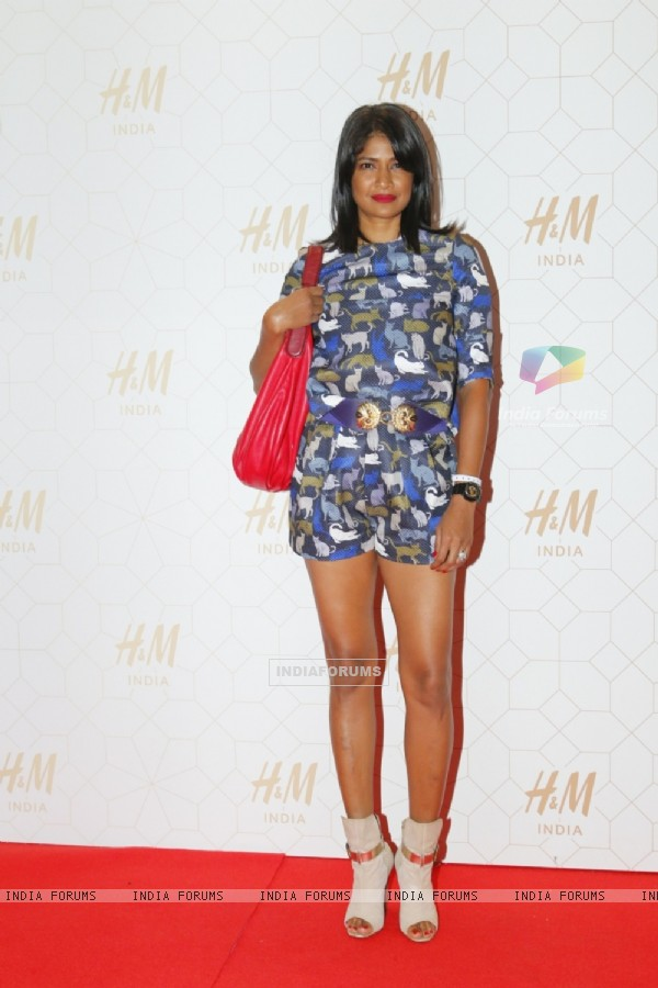 Carol Gracias at Launch of H & M's First India Store