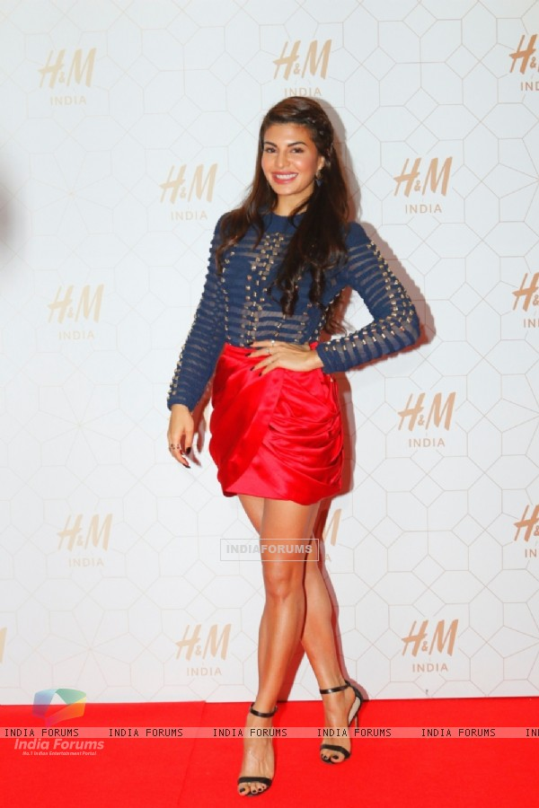 Jacqueline Fernandes at Launch of H & M's First India Store