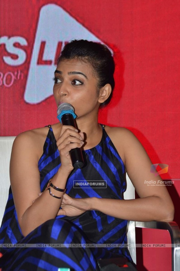 Radhika Apte at Launch of Famestars Live