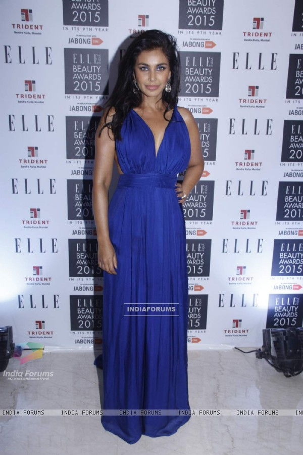 Lisa Ray was at Elle Beauty Awards