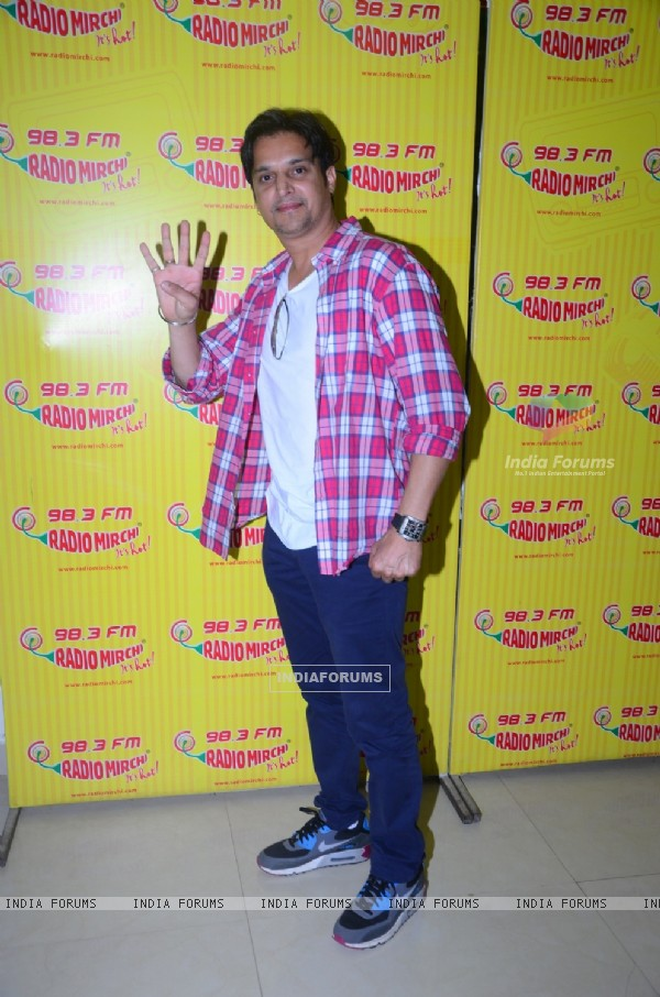 Jimmy Shergill for Promotion of Punjabi Film Shareek at Radio Mirchi