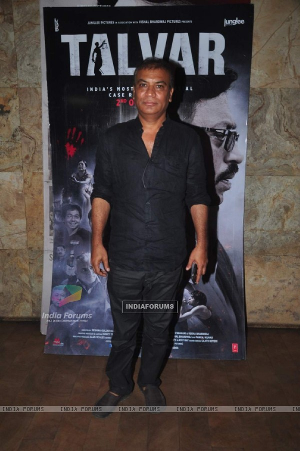 Pradeep Rawat at Screening of Talvar