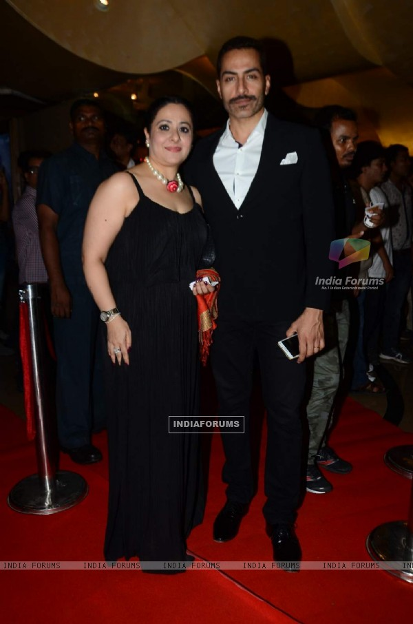 Sudhanshu Pandey at Premiere of Jazbaa