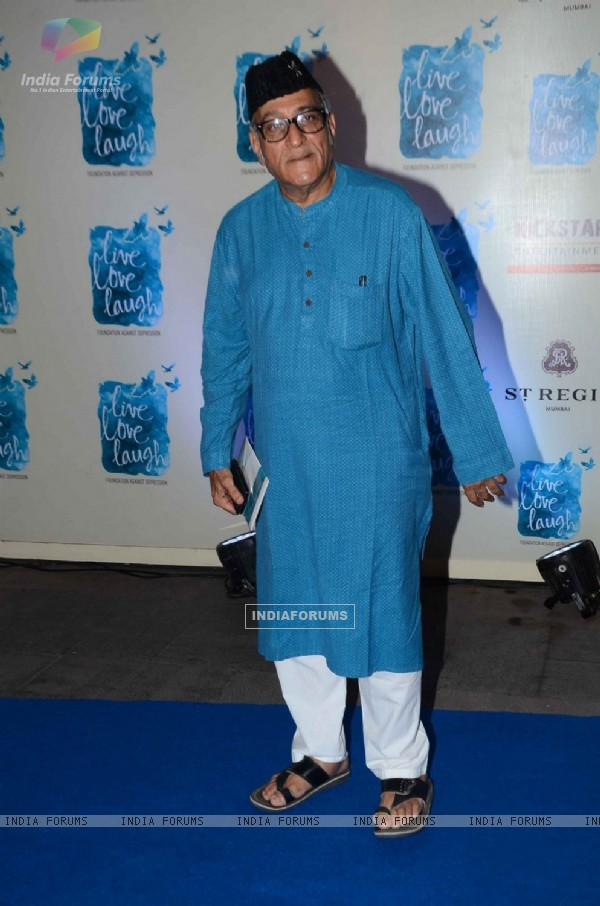 Mohan Agashe at Deepika Padukone's NGO 'Live Love Life' LAunch