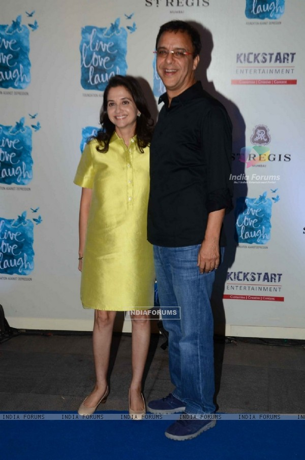 Anupama and Vidhu Vinod Chopra at Launch of NGO 'Live Love Life'