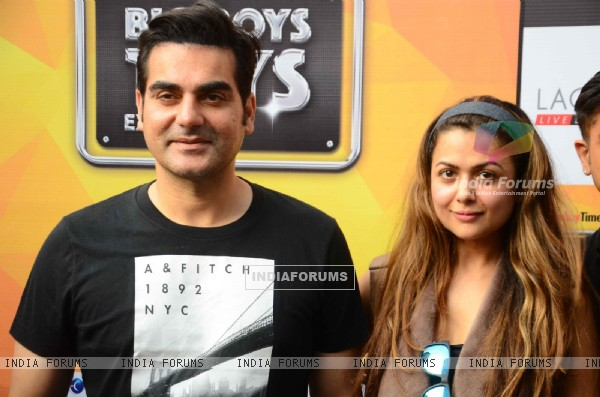 Arbaaz Khan and Amrita Arora at Big Boys Toys Expo