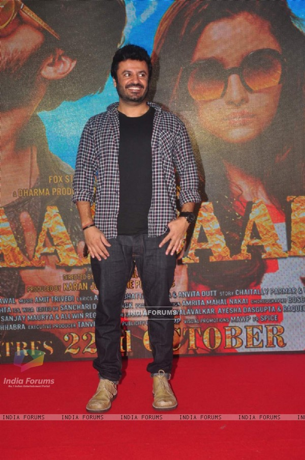 Vikas Bahl poses for the media at the Song Launch of Shaandaar