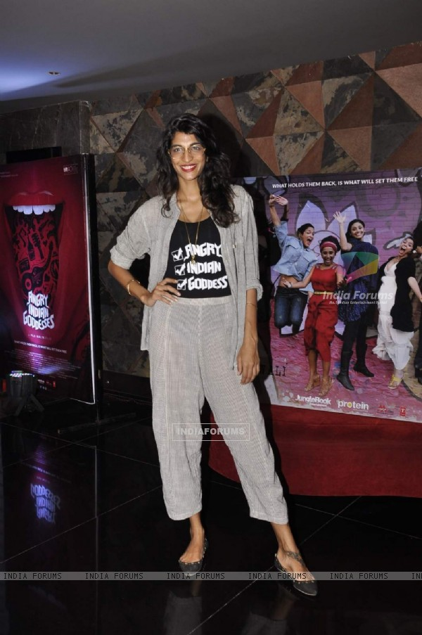 Anushka Manchanda at Press Meet of Angry Indian Goddesses