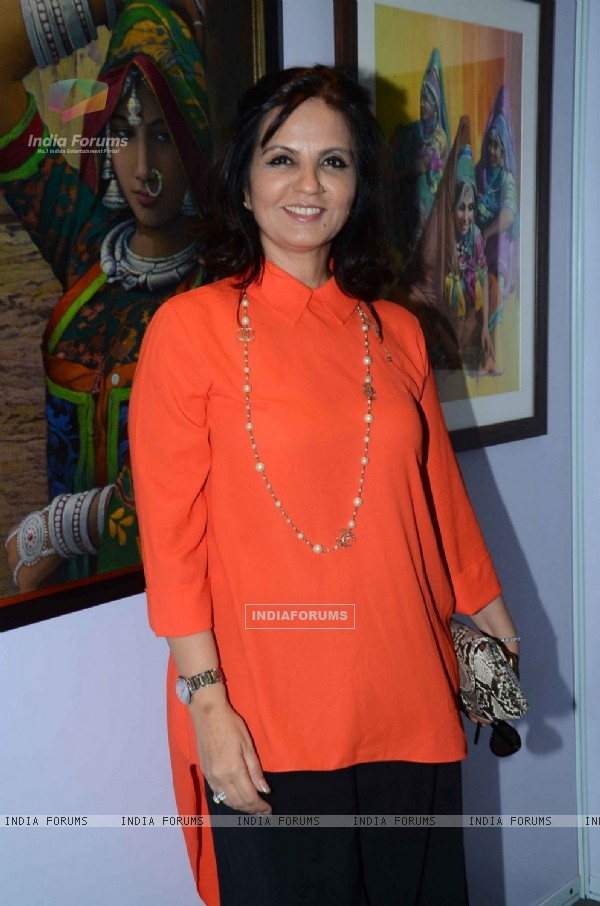 Neeta Lulla at Retrospective Exhibition