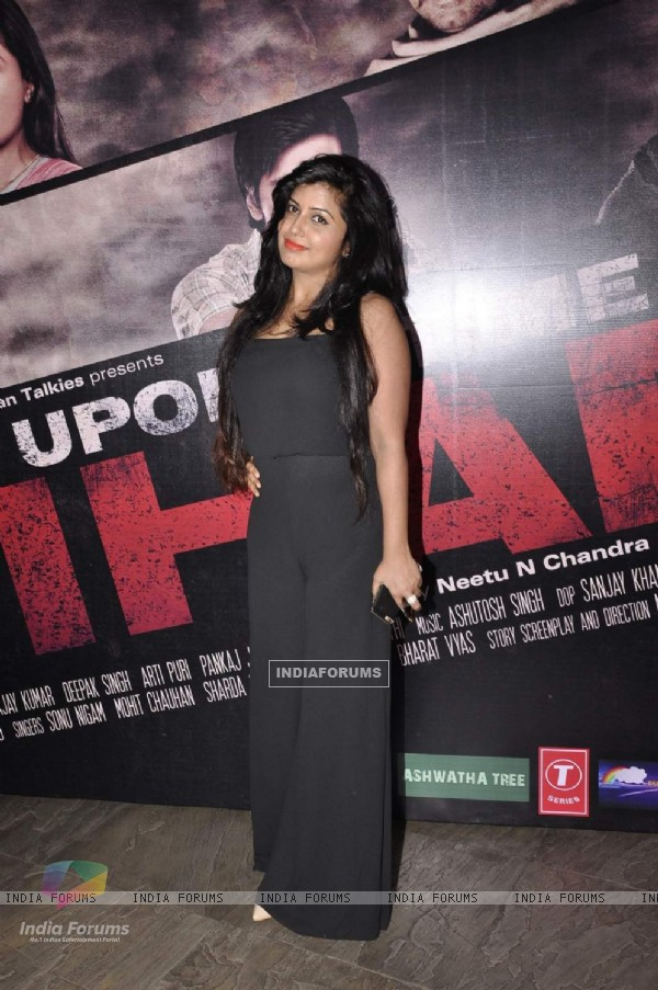 Aarti Puri at Music Launch of Once Upon A Time In Bihar