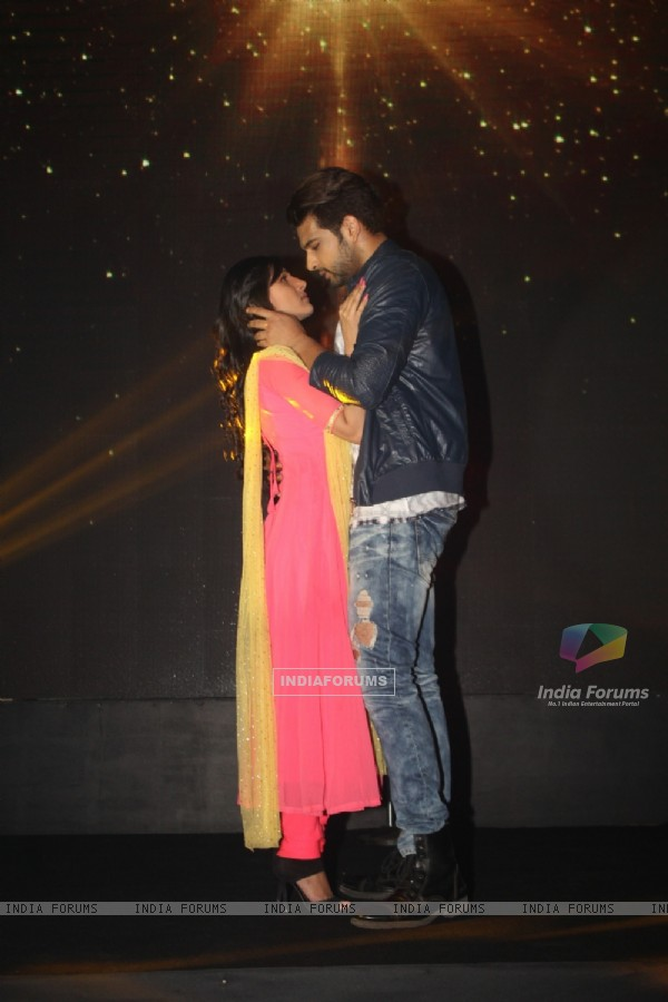 Karan Kundra and Saanvi Talwar at Launch of New Show 'Yeh Kahan Aa Gaye Hum'