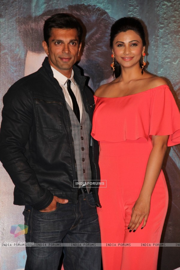 Karan Singh Grover and Daisy Shah at Trailer Launch of Hate Story 3