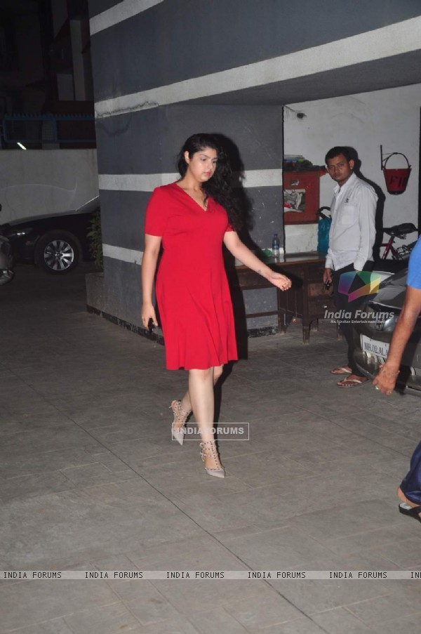 Anshula Kapoor was snapped at Sanjay Kapoor's Birthday Bash