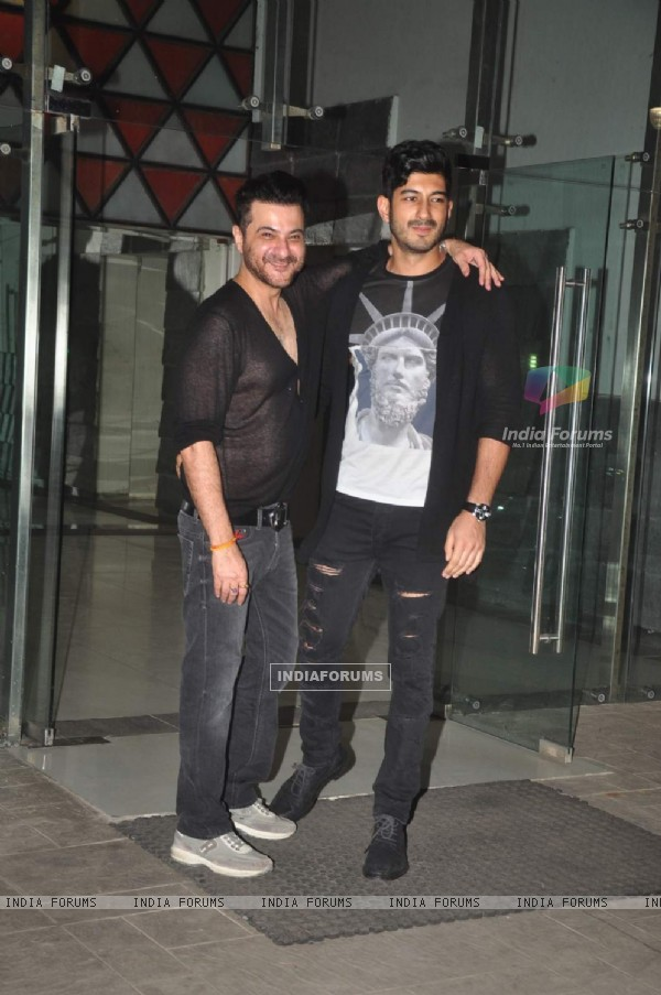 Mohit Marwah was at Sanjay Kapoor's Birthday Bash