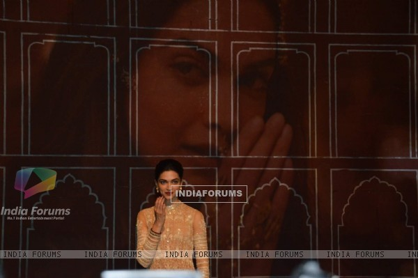 Deepika Padukone at Song Launch of Bajirao Mastani
