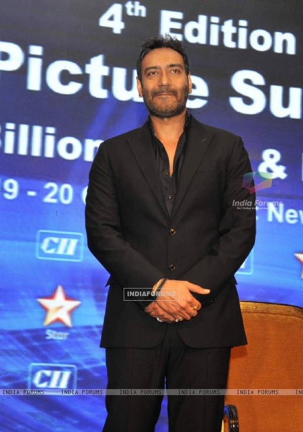 Ajay Devgn at CII Big Picture Summit
