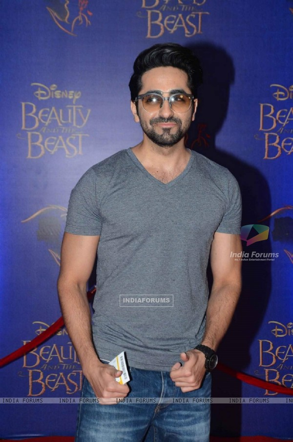 Vir Das at Screening of Beauty and The Beast