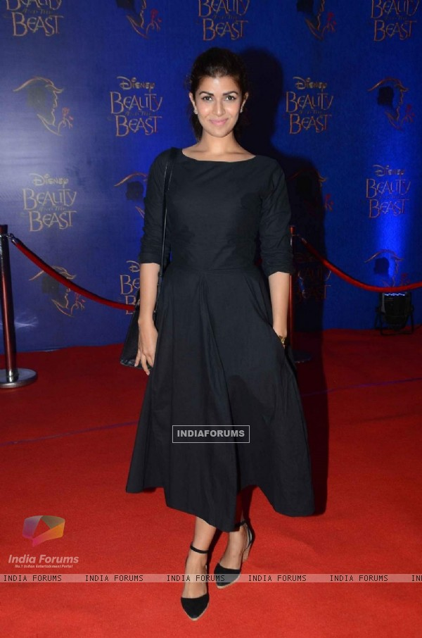 Nimrat Kaur at Screening of Beauty and The Beast