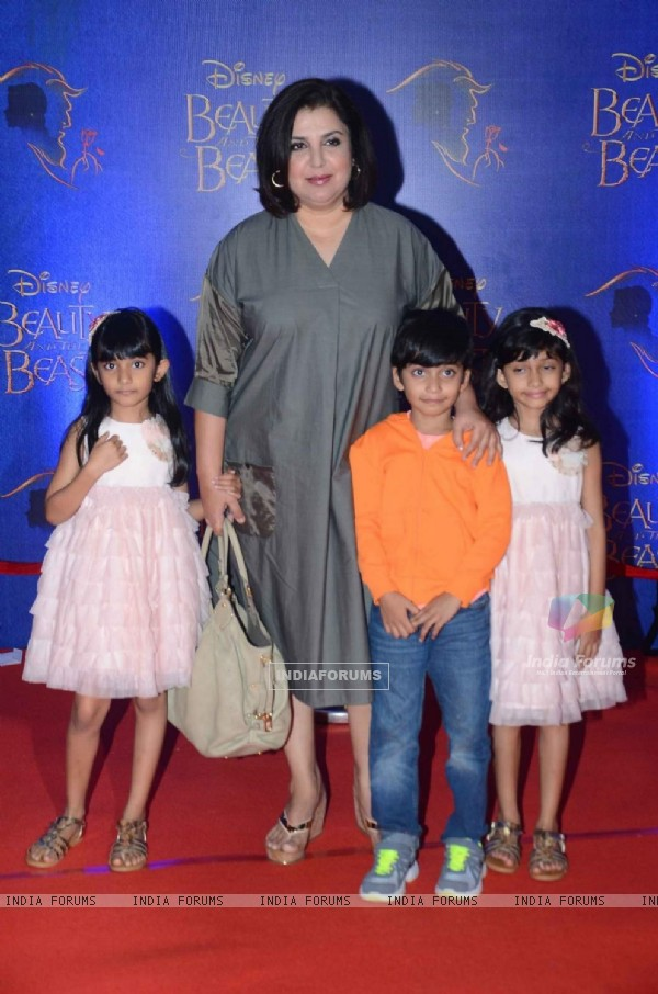 Farah Khan at Screening of Beauty and The Beast