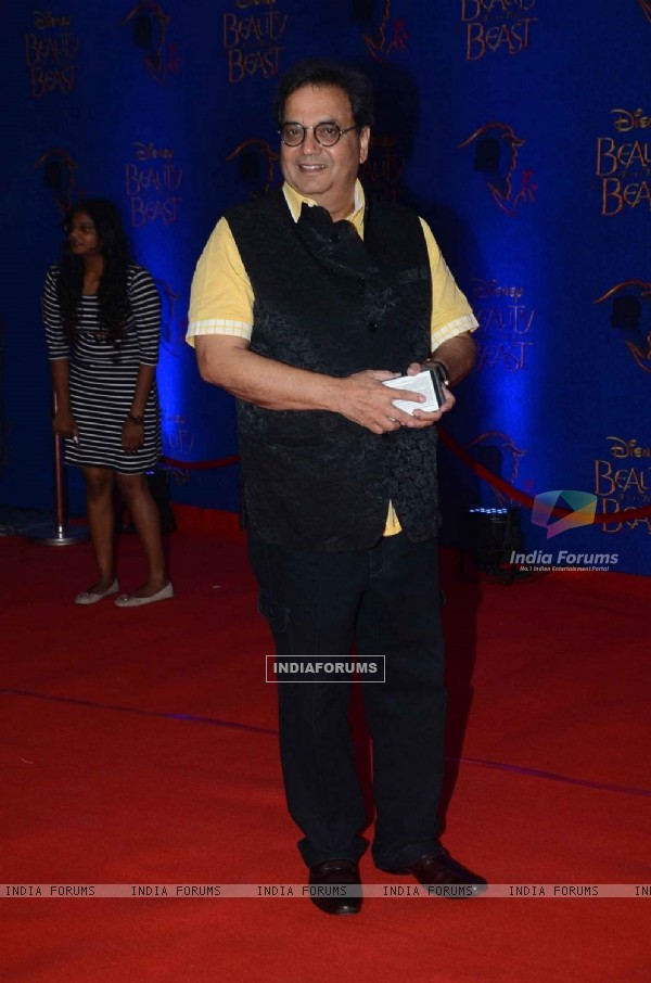 Subhash Ghai at Screening of Beauty and The Beast