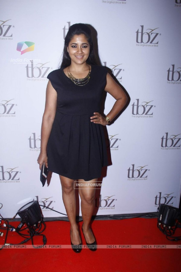 Narayani Shastri at Launch of TBZ Jewellery Store
