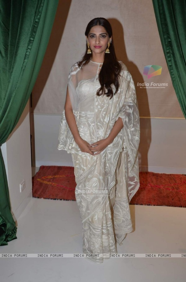 Sonam Kapoor at Launch of Le Mill Store