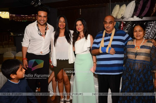 Krushna Abhishek and Kashmira Shah at Amy Billimoria Charity Show