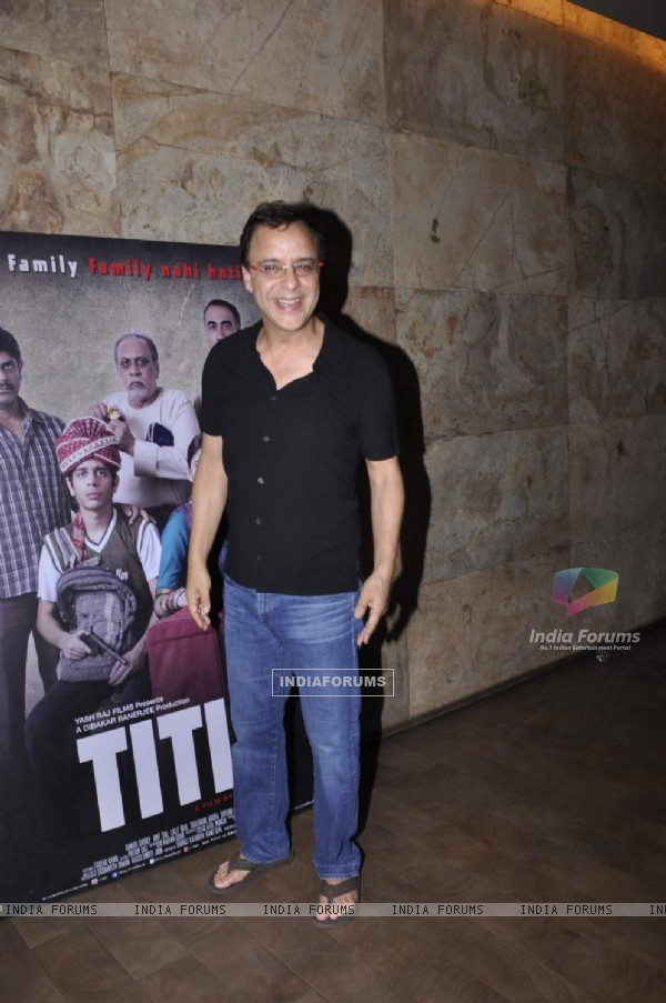 Vidhu Vinod Chopra Attends Special Screening of 'Titli'