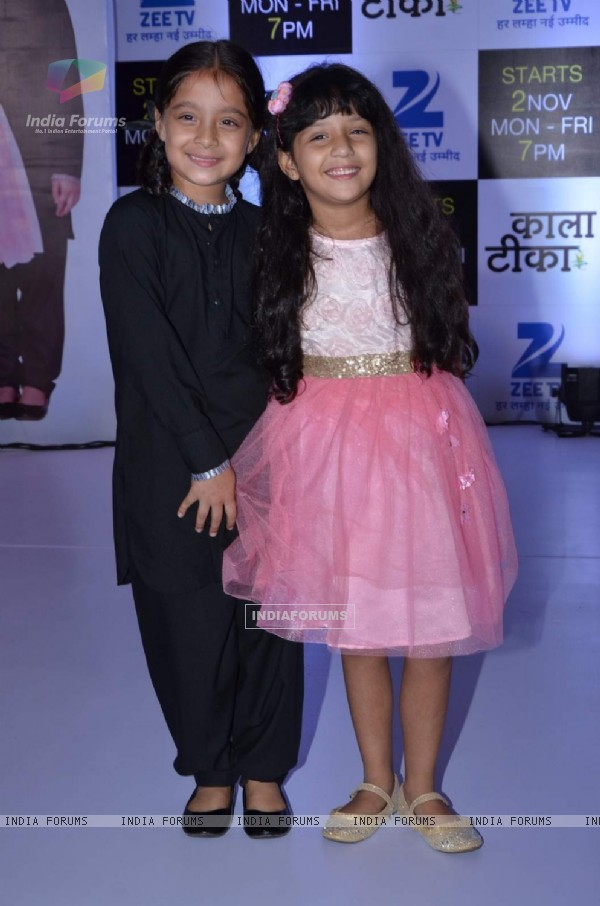 Adaa Narang and Sargam Khurana at Launch of Zee TV's New Show 'Kaala Teeka'