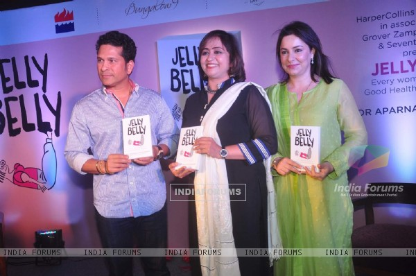Sachin Tendulkar at Book Launch of Dr Aparna Santhanam