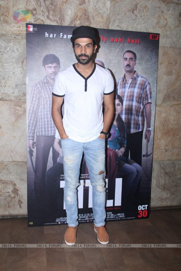 Rajkummar at Special Screening of Titli