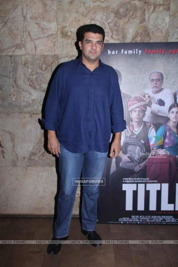 Siddharth Roy Kapur at Special Screening of Titli
